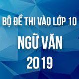 Bộ đề thi tuyển sinh vào lớp 10 môn Ngữ văn năm học 2018-2019