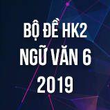 Bộ đề thi HK2 môn Ngữ văn lớp 6 năm 2019