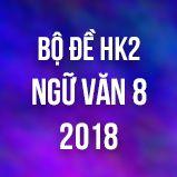 Bộ đề thi HK2 môn Ngữ văn lớp 8 năm 2018