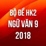 Bộ đề thi HK2 môn Ngữ văn lớp 9 năm 2018