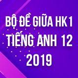 Bộ đề thi giữa HK1 môn Tiếng Anh lớp 12 năm 2019