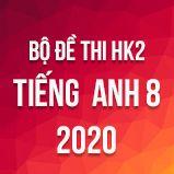 Bộ đề thi HK2 môn tiếng Anh lớp 8 năm 2020