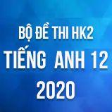 Bộ đề thi HK2 môn tiếng Anh lớp 12 năm 2020