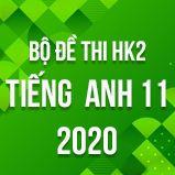 Bộ đề thi HK2 môn tiếng Anh lớp 11 năm 2020