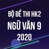 Bộ đề thi HK2 môn Ngữ Văn 9 năm 2020