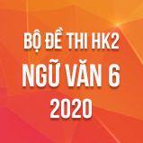Bộ đề thi HK2 môn Ngữ Văn 6 năm 2020
