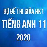 Bộ đề thi giữa HK1 môn Tiếng Anh lớp 11 năm 2020