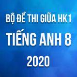 Bộ đề thi giữa HK1 môn Tiếng Anh lớp 8 năm 2020