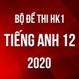 Bộ đề thi HK1 môn Tiếng Anh lớp 12 năm 2020
