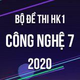 Bộ đề thi HK1 môn Công nghệ lớp 7 năm 2020