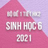 Bộ đề kiểm tra 1 tiết HK2 môn Sinh học lớp 6 năm 2021