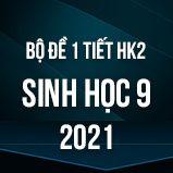 Bộ đề kiểm tra 1 tiết HK2 môn Sinh học lớp 9 năm 2021