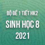 Bộ đề kiểm tra 1 tiết HK2 môn Sinh học lớp 8 năm 2021
