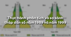 Bài 5: Thực hành Phân tích và so sánh tháp dân số năm 1989 và năm 1999