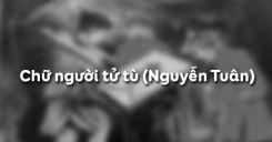 Chữ người tử tù - Nguyễn Tuân
