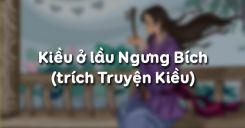 Kiều ở lầu Ngưng Bích - Nguyễn Du