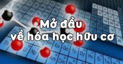 Bài 20: Mở đầu về hóa học hữu cơ