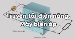 Bài 16: Truyền tải điện năng và máy biến áp