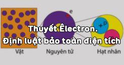 Bài 2: Thuyết Êlectron và định luật bảo toàn điện tích