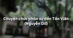 Soạn bài Chuyện chức phán sự đền Tản Viên của Nguyễn Dữ - Ngữ văn 10