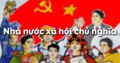 Bài 9: Nhà nước xã hội chủ nghĩa