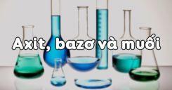 Bài 2: Axit, bazơ và muối