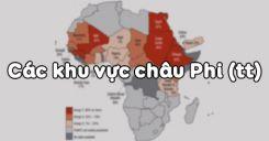 Bài 33: Các khu vực châu Phi (tiếp theo)