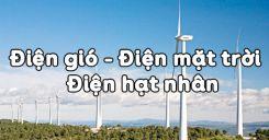 Bài 62: Điện gió - Điện mặt trời - Điện hạt nhân