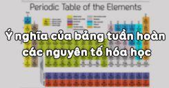 Bài 10: Ý nghĩa của bảng tuần hoàn các nguyên tố hóa học