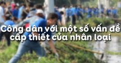 Bài 15: Công dân với một số vấn đề cấp thiết của nhân loại
