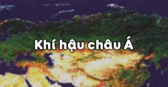 Bài 2: Khí hậu châu Á