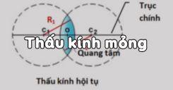 Bài 29: Thấu kính mỏng