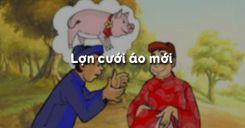 Lợn cưới áo mới