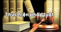 Bài 2: Thực hiện pháp luật