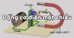 Bài 28: Động cơ điện một chiều