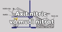 Bài 9: Axit nitric và muối nitrat