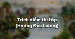 Trích diễm thi tập - Hoàng Đức Lương