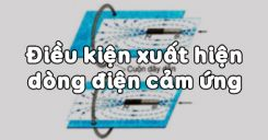 Bài 32: Điều kiện xuất hiện dòng điện cảm ứng