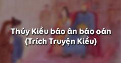 Soạn bài Thúy Kiều báo ân báo oán của Nguyễn Du - Ngữ văn 9