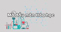 Bài 1: Mở đầu môn Hóa học