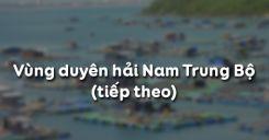 Bài 26: Vùng duyên hải Nam Trung Bộ (tiếp theo)