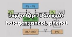 Bài 42 : Luyện tập Dẫn xuất halogen, ancol, phenol