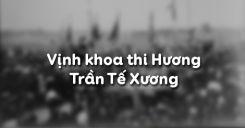 Soạn bài Vịnh khoa thi Hương của Trần Tế Xương - Ngữ văn 11