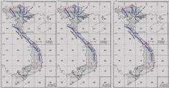 Bài 13: Thực hành - Đọc bản đồ địa hình, điền vào lược đồ trống một số dãy núi và đỉnh núi