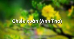 Chiều xuân - Anh Thơ