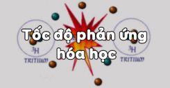 Bài 36: Tốc độ phản ứng hóa học