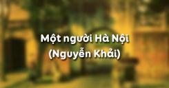 Một người Hà Nội - Nguyễn Khải