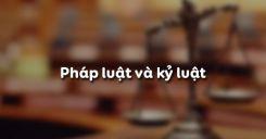 Bài 5: Pháp luật và kỷ luật