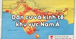 Bài 11: Dân cư và kinh tế khu vực Nam Á