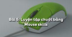 Bài 5: Luyện tập chuột bằng Mouse skills